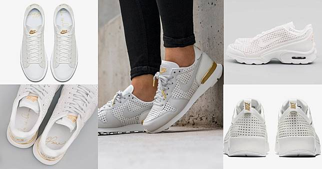 รองเท้า Nike Beautiful x Powerful คอลเลกชันใหม่ ในรูปแบบสีขาว-ทอง