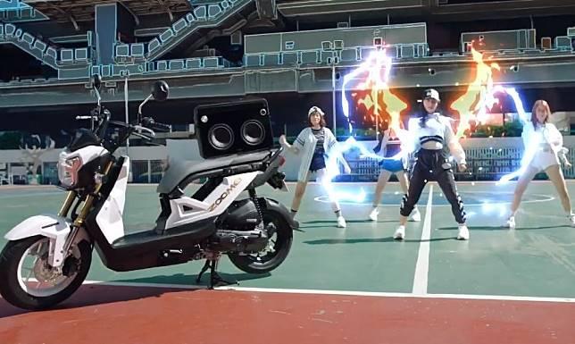 Honda Zoomer-X juga dijual di Thailand