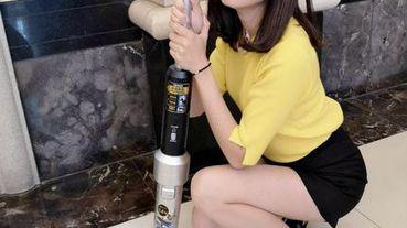 【家電推薦】輕時尚美學 日本IRIS 3倍氣旋偵測灰塵無線吸塵器