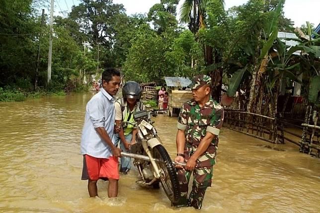 Ratusan rumah di Nagan Raya Aceh terendam banjir