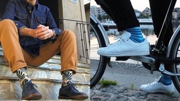 襪子不能亂穿!5 種最受歡迎男生襪子穿搭示範