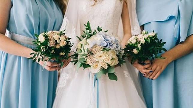 Ilustrasi pesta pernikahan. (Shutterstock)