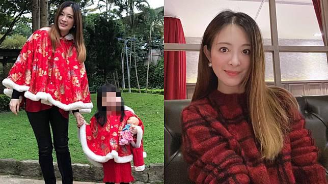 劉真病逝留下4歲女兒。(圖/翻攝自劉真臉書)