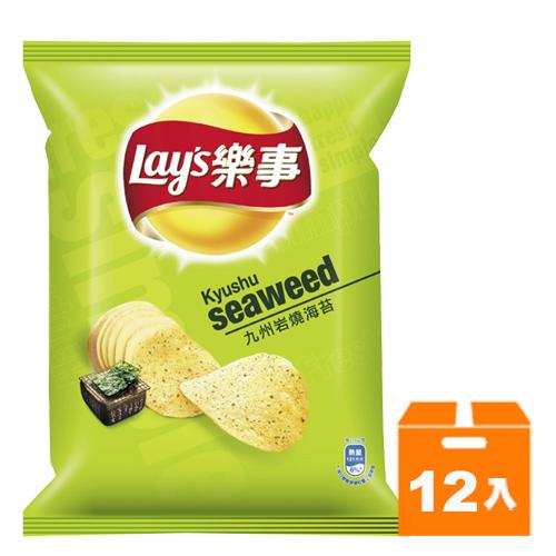 Lay's 樂事 九州岩燒海苔味 洋芋片 75g (12入)/箱