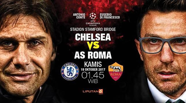 Prediksi Chelsea vs AS Roma