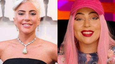 戴上 Tiffany 價值 3000 萬美元鑽石項鍊是什麼感覺?Lady Gaga 全程被保鑣「恐怖凝視」!
