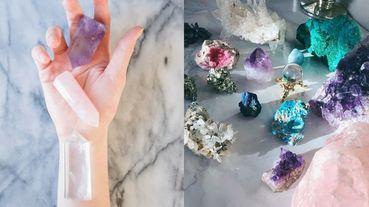 戀愛運的粉晶、透明水晶消除負能量⋯超級療癒的「水晶」正確使用、清潔方式完整解答