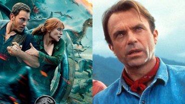19 年後再度對峙恐龍!原版男主角「山姆尼爾」開拍《侏羅紀世界 3》大讚史上最棒續集!