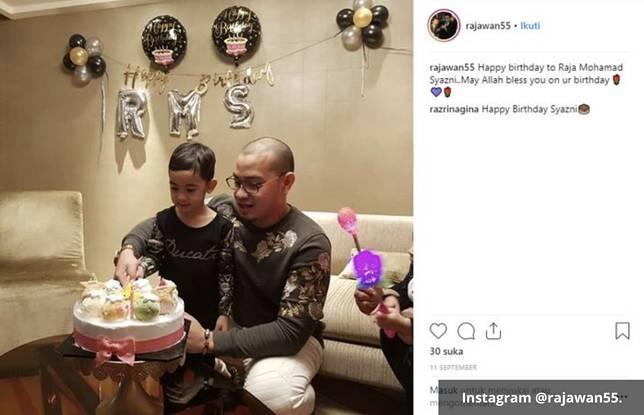 Bubu mantan pacar Syahrini tengah merayakan ulang tahun