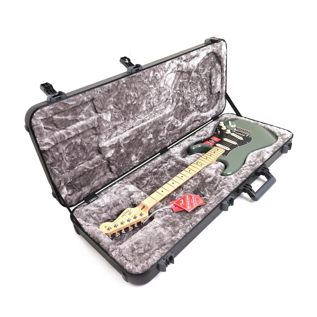 Fender American Professional Stratocaster Map 電吉它 橄欖綠【立昇樂器】