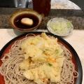 天玉せいろ - 実際訪問したユーザーが直接撮影して投稿した西新宿うどんかめや 新宿店の写真のメニュー情報