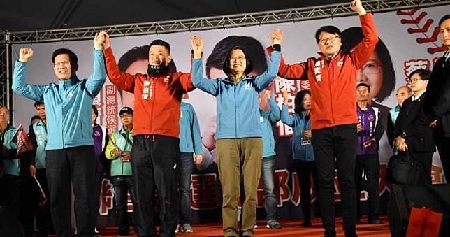 陳柏惟聯合競總成立大會 蔡英文:可投民進黨或是台灣基進