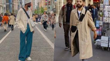 「斜背包」打造街頭時尚,型男不可錯過的春夏必備包款!