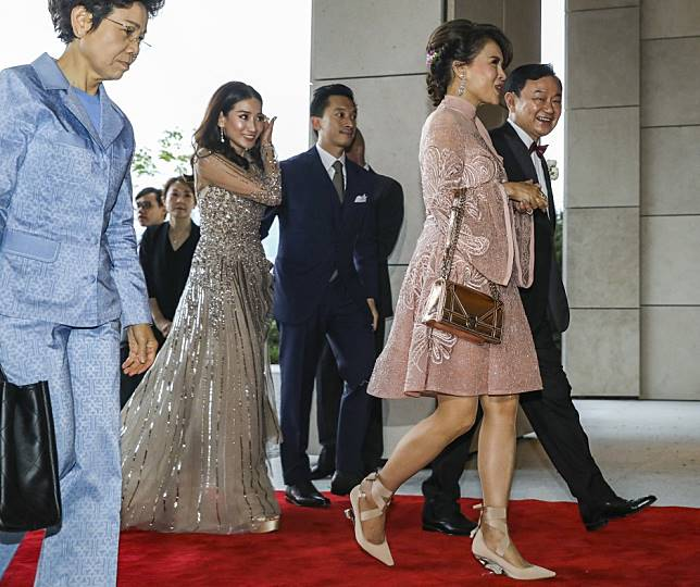 Thailand's princess Ubolratana attends wedding of Thaksin Shinawatra's daughter in Hong Kong