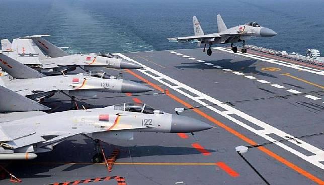 Kapal induk pertama buatan Cina, Tipe 001A, dapat membawa 36 pesawat tempur, 50 persen lebih banyak dari Liaoning. Kredit: Ifeng