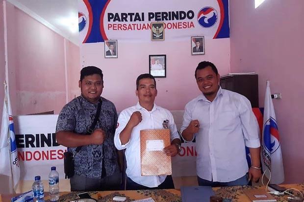 Pendaftaran Dibuka Tumbur Langsung Ambil Berkas ke Partai Perindo Simalungun