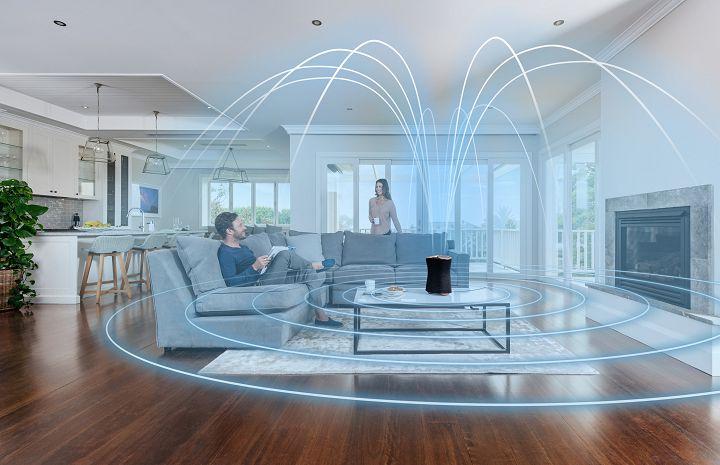 Sony 全新「全向式盈滿室內技術」,可打造水平和垂直音場,全面地傳遞音樂。
