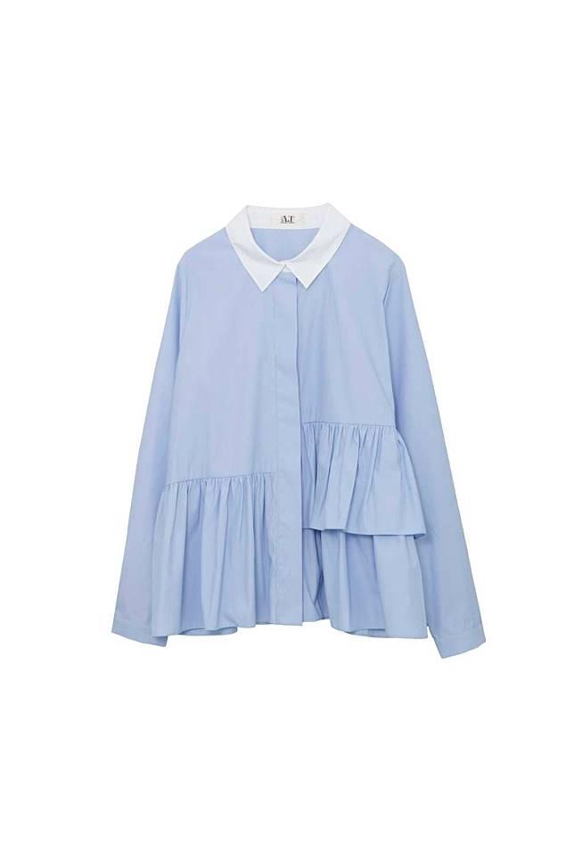 A.T by Atsuro Tayama藍色恤衫 原價HK$1,995 特價HK$399(互聯網)