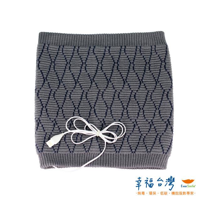 幸福台灣-發熱羊毛針織保暖圍脖(氣質灰)
