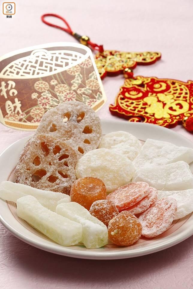 隨着大家愈來愈注重健康,「傳統八甜」已經變得不太常見。(資料圖片)