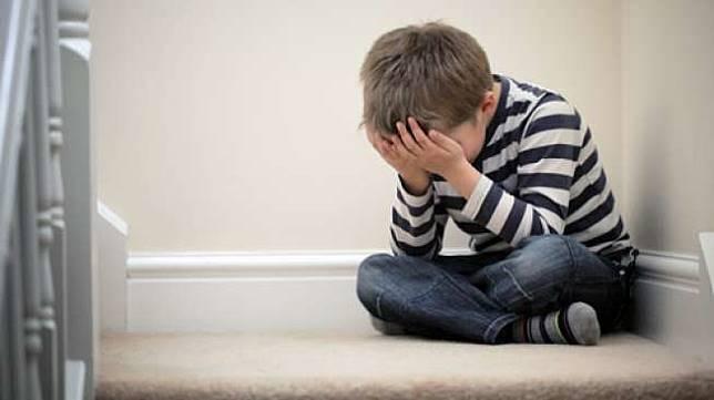 Ilustrasi anak stres, sedih. (Shutterstock)