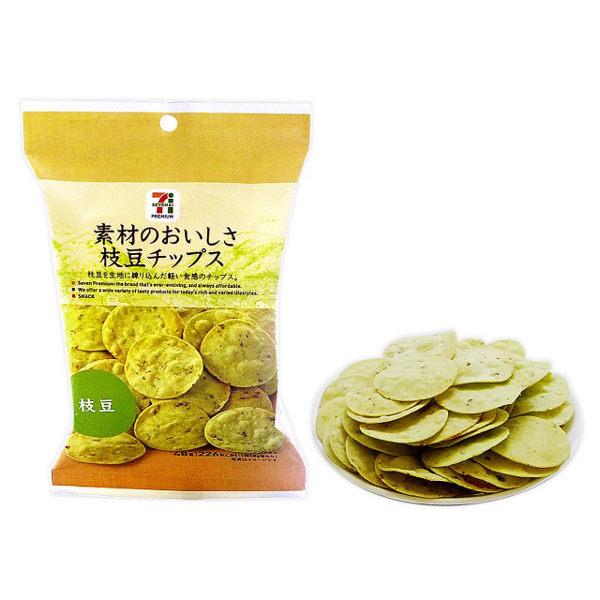 日本7-11【7-PREMIUM】毛豆洋芋片/薯片 48g