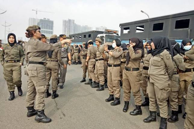 Oknum pembobol Bank DKI siap-siap dipecat oleh Satpol PP