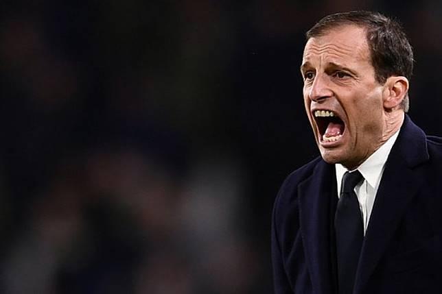 Juventus Vs Atletico, Allegri Tak Mau Bermain dengan 4 Penyerang