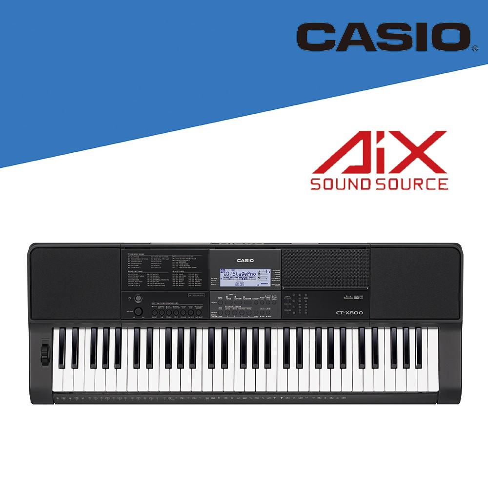 [ 官方直營 ] 卡西歐 CASIO /CT-X800 / 標準型61鍵電子琴