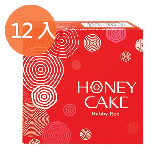 資生堂 HONEY CAKE 潤紅蜂蜜香皂EX 100g (6入)x2盒/組