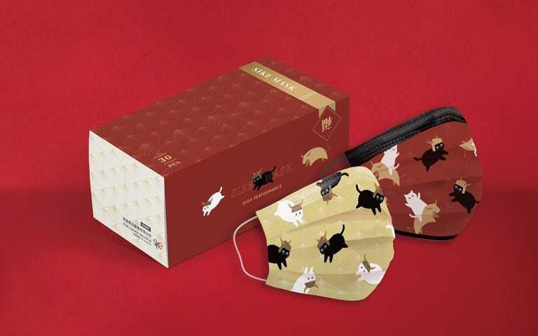 「野牛騎士系列」口罩於德泰舒康官網、官方蝦皮賣場販售中。(圖/德泰舒康)