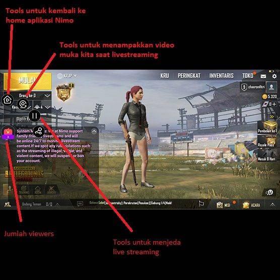 cara live streaming game dapat uang di