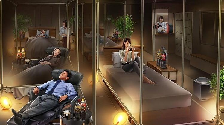 上班族的午睡基地!雀巢開設睡眠咖啡館 瞬間提升上班效率