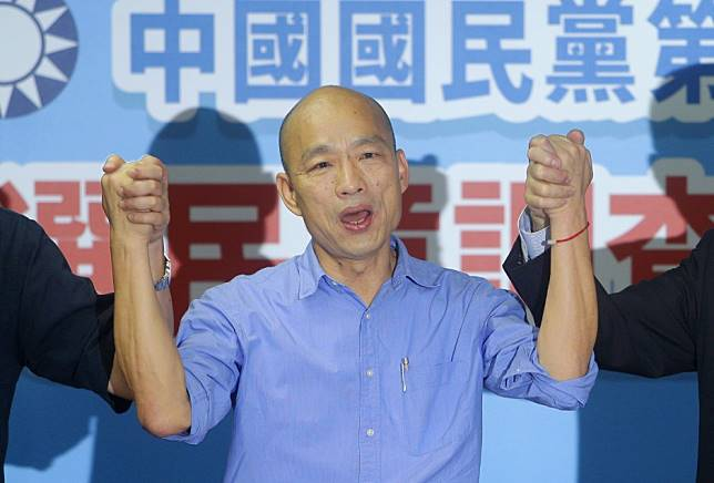 Taiwan presidential hopeful Han Kuo-yu says 'no peace deal with Beijing until threats end'