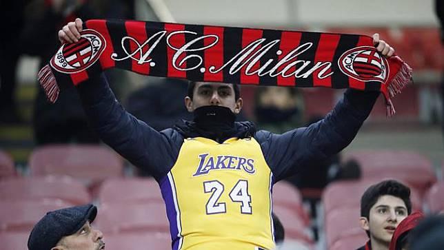 AC Milan Beri Penghormatan untuk Kobe Bryant di San Siro