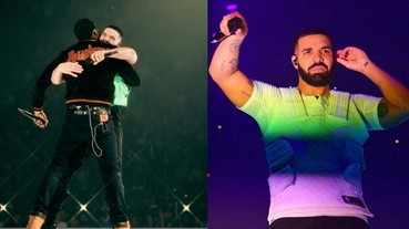 〔嘻哈老砲兒 〕世紀大和解:Drake 和 Meek Mill 事隔三年首度同台表演! 網友:Gods Plan!
