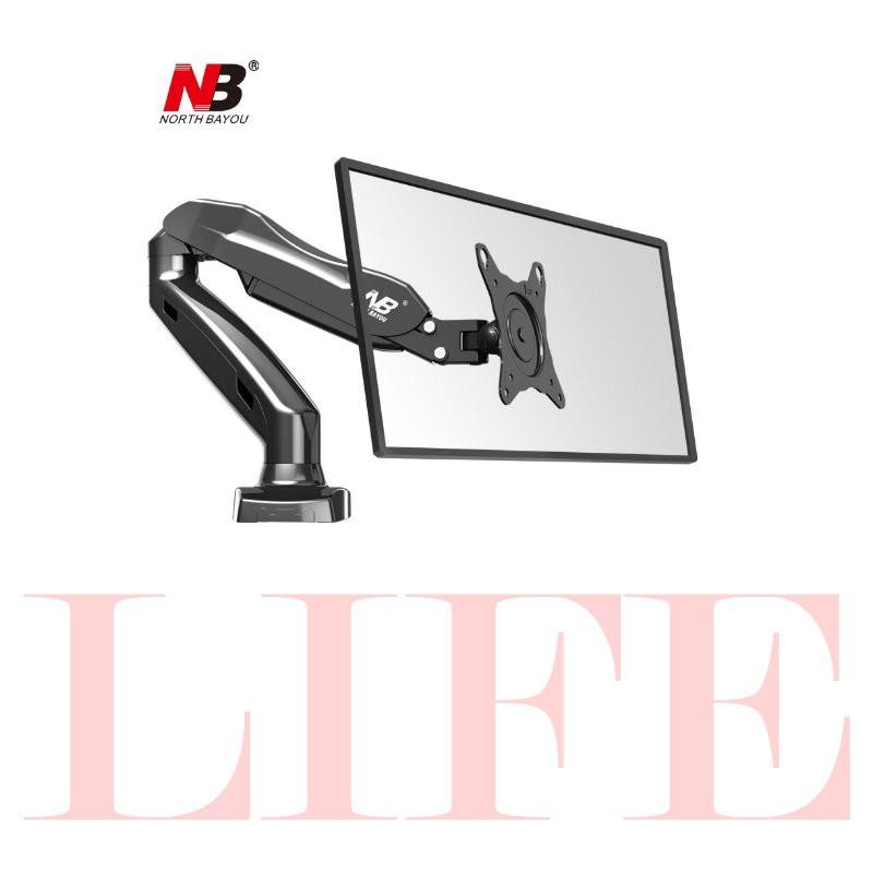 本商品規格品牌:NB 型號:F80 型式:壁掛架 適用範圍:17吋~27吋 產地:中國 最大承重:2~6.5公斤 材質:高強度鋼板 VESA安裝孔位:75x75mm ; 100x100mm 顏色:黑