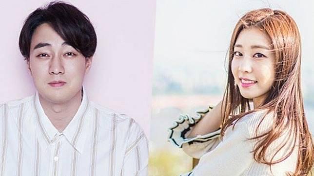 So Ji Sub dan kekasih,  Jo Eun Jong.