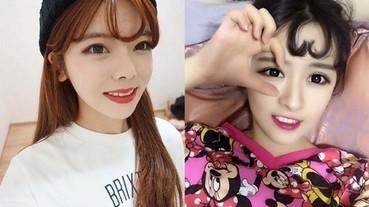 韓國女生的空氣瀏海流行完了 現在改風行「心型瀏海」!