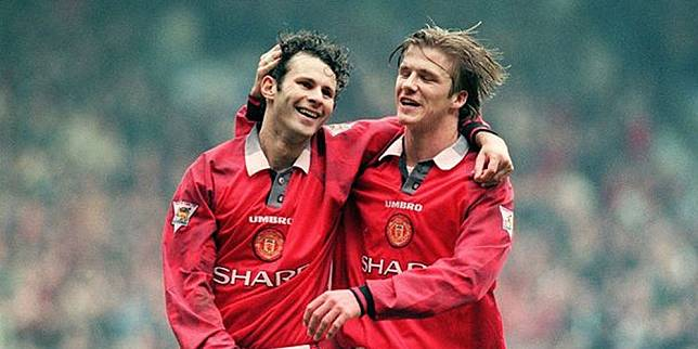 David Beckham & Ryan Giggs (c) Ist