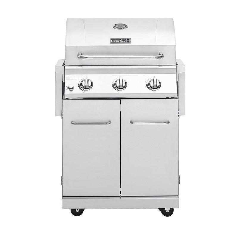 Nexgrill 戶外三爐瓦斯烤爐 W1900624 COSCO代購