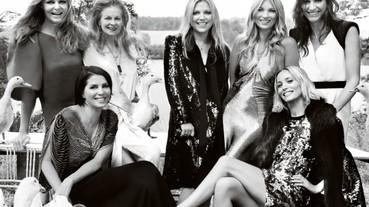 Kate Moss的浪漫婚禮登上美國版Vogue