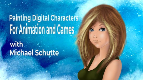 Painting Digital Characters for Animation and Game-Industry