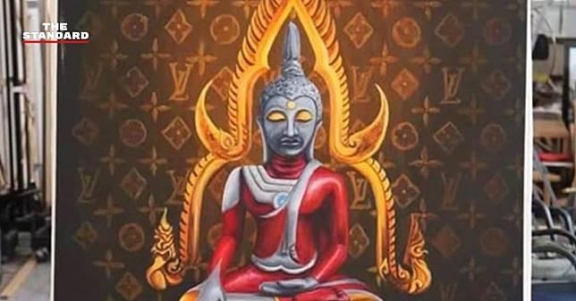 กลุ่มชาวพุทธฯ ถอนฟ้องศิลปินวาดพระพุทธรูปอุลตร้าแมน เชื่อมีรหัสลับซ่อนอยู่ภายในภาพ