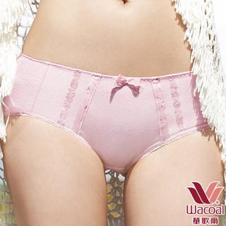 加 $ 315 買 【華歌爾】環保有機棉-植物印&素面M-LL中低腰平口褲(3色)!茜草