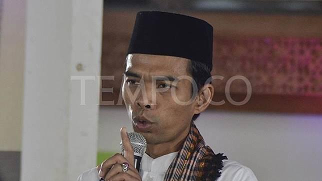 Ustadz Abdul Somad Batubara. TEMPO/Fakhri Hermansyah