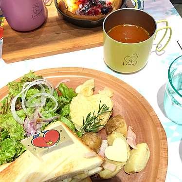 実際訪問したユーザーが直接撮影して投稿した新宿カフェSHINJUKU BOX cafe&space ルミネエスト新宿店の写真