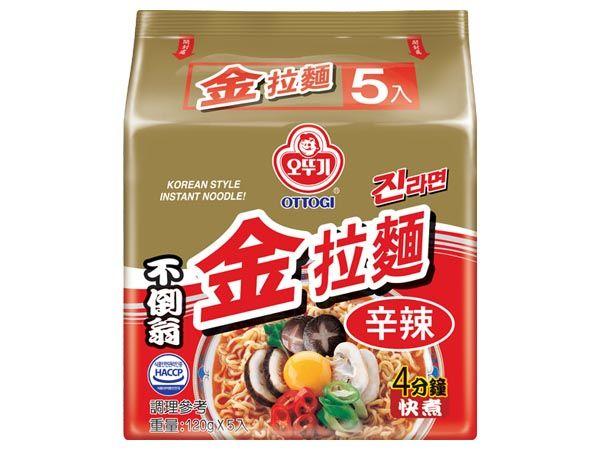 韓國不倒翁~金拉麵(辣味)5入裝【D520346】泡麵/進口/團購,還有更多的日韓美妝、海外保養品、零食都在小三美日,現在購買立即出貨給您。