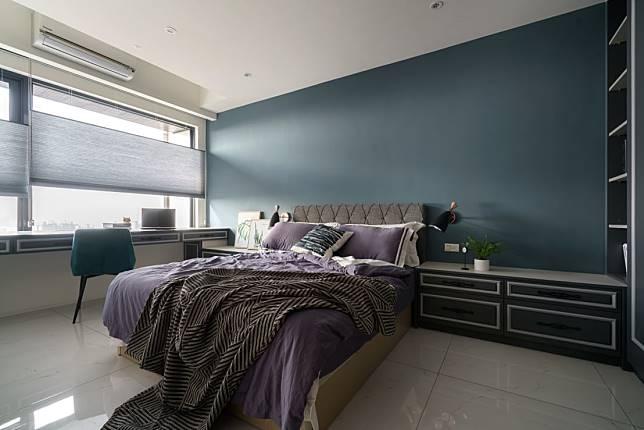臥室設計實例六:英倫古典風