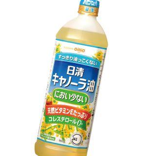 日清オイリオ におい少ないキャノーラ油